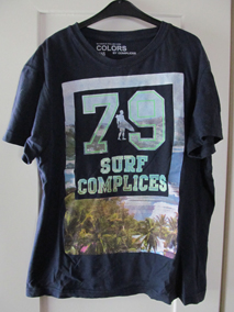 Colors by Complices blauw t-shirt 79 Surf Complices circa mt 146